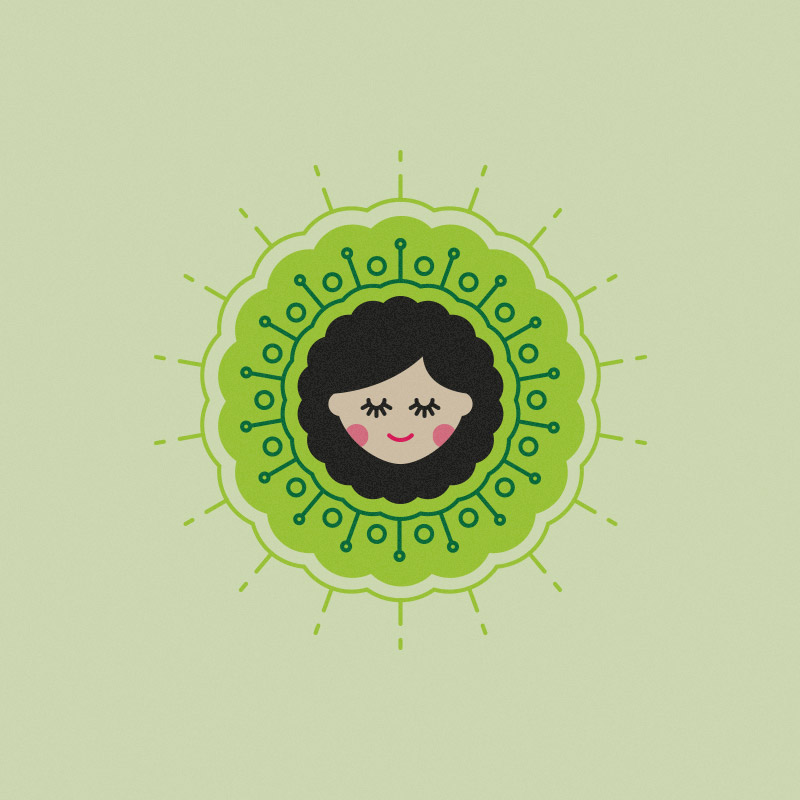 Free work: Avocado Girl